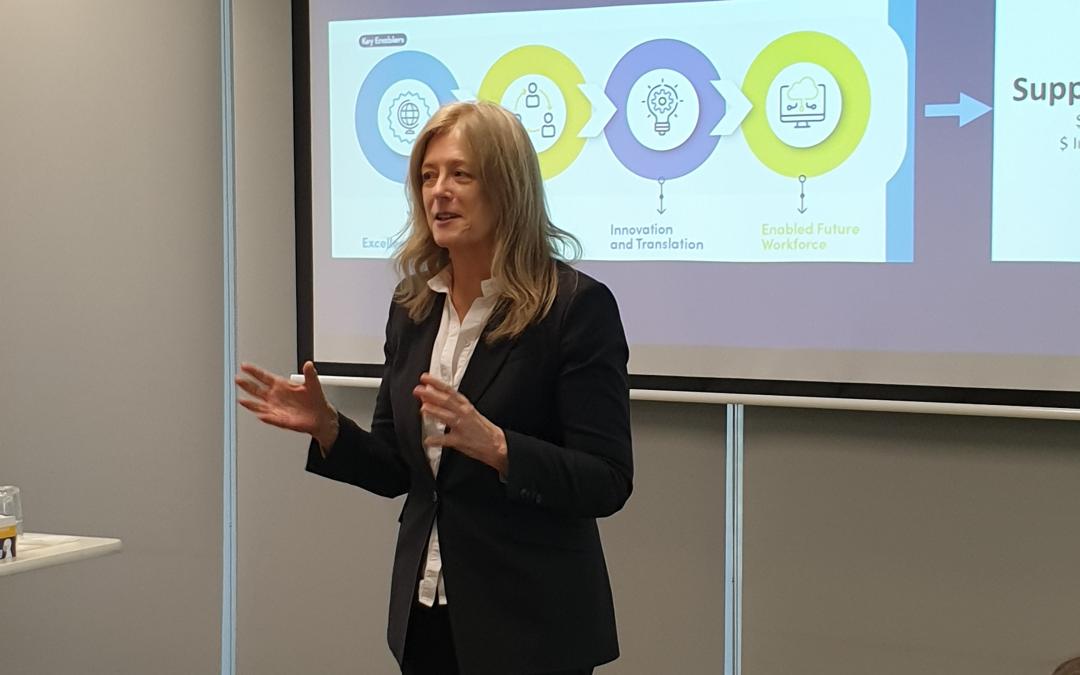 SA Chief Scientist sharing insight into RC-APD Program